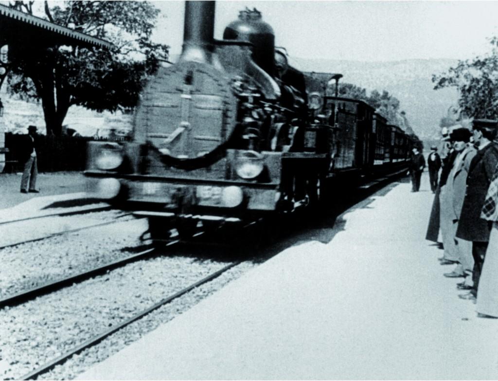 L'arrivo del treno alla stazione di La Ciotat, 1895, Auguste e Louis Lumière