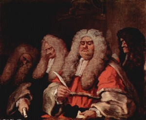Hogarth - The Bench