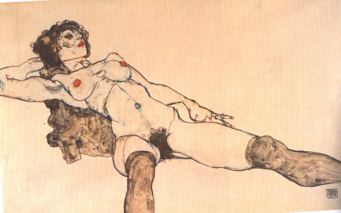 desnudo-femenino-1914-egon-schiele