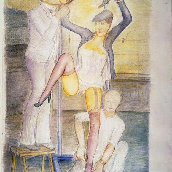 Sulla teoria dell'opera pittorica in Klossowski