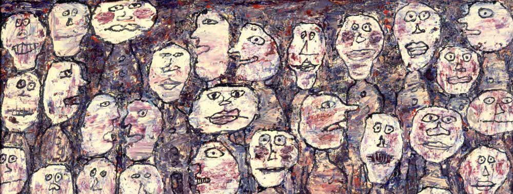 DEF 01 Jean Dubuffet, Affluence (1961)
