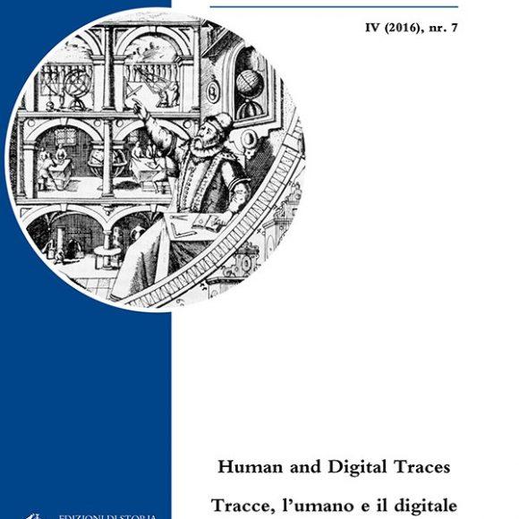 Human and Digital Traces/Tracce, l'umano e il digitale – Azimuth, IV (2016), 7