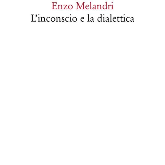 Enzo Melandri – L'inconscio e la dialettica