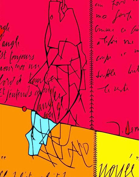 Il corpo del pensiero. Derrida e Adami