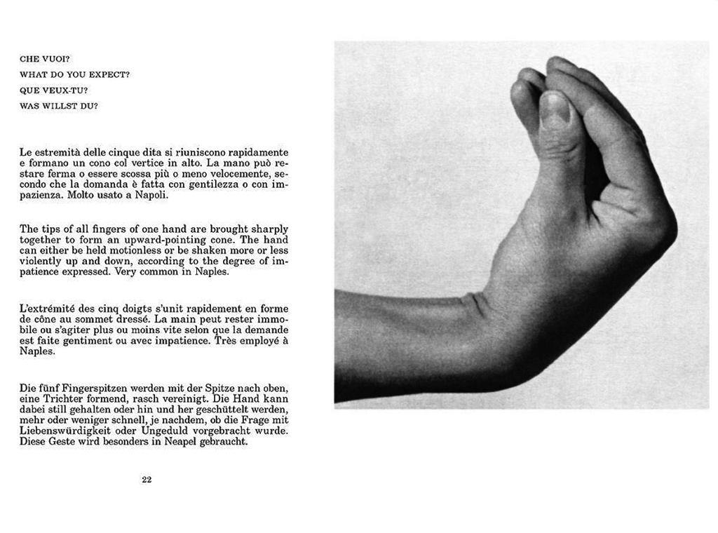 Filosofia del gesto